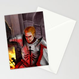 Dragon Age - Cullen - Tower in Flames Stationery Cards