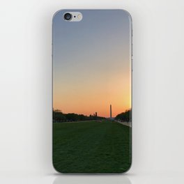 Washington D.C. Spring Sunset iPhone Skin