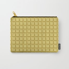 Just white chocolate / 3D render of white chocolate Carry-All Pouch