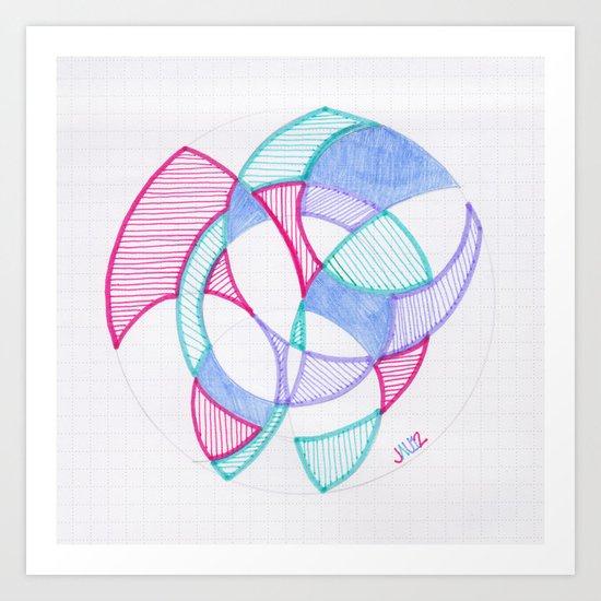 Cirque-Cle #5 Art Print
