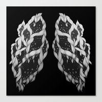 lungs Canvas Prints featuring Lungs by Sushibird