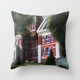 """""""Grand Ole Lady"""" Throw Pillow"""