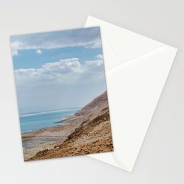 dead sea in israel Stationery Cards