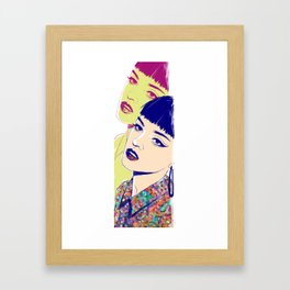One in the Same Framed Art Print