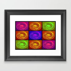 Abstract Collage Art Framed Art Print