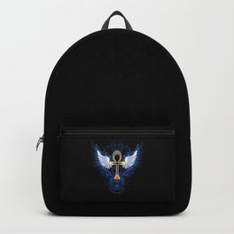 Gold ankh Backpack