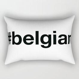 BELGIAN Hashtag Rectangular Pillow