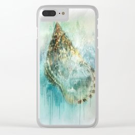 Shell Splash Clear iPhone Case