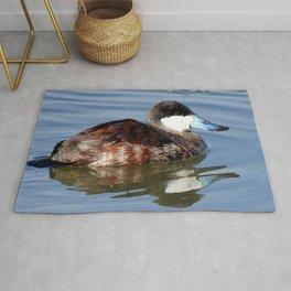 Male Ruddy Duck Rug