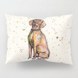 Hungarian Vizsla Dog Pillow Sham