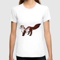 ferret T-shirts featuring Ferret! by Sarah Engbretsen