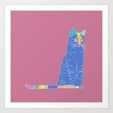 The cat #2 Art Print