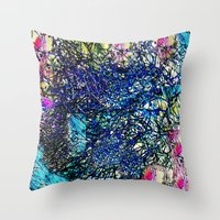 the 100 Throw Pillows featuring Abstract 100 by  Agostino Lo Coco