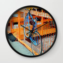 'Bout Fencing Wall Clock