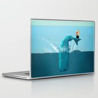moby Laptop & iPad Skins featuring moby  by mark ashkenazi