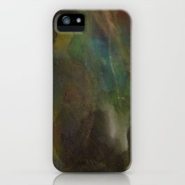 Time Is The Enemy iPhone Case