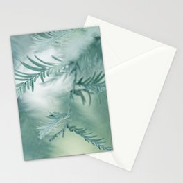 feathery leaves Stationery Cards