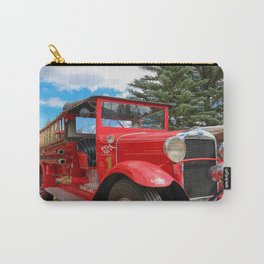 The Grand Lake Lodge Fire Engine in Fall Carry-All Pouch