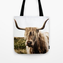 Highland Cow - color Tote Bag