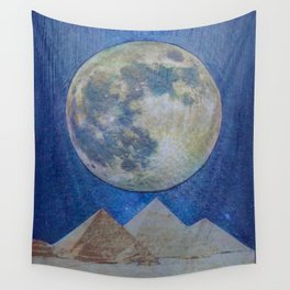 Moon Party Wall Tapestry