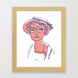 Dear Emma Framed Art Print