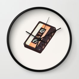Lo-Fi goes 3D - The Mixed Tape Wall Clock
