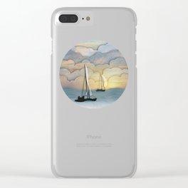 Sailing I Clear iPhone Case