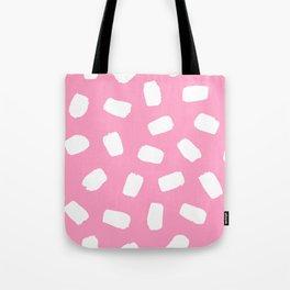 Candyfloss Brushstrokes Tote Bag