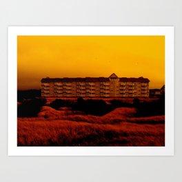 House of Orange Art Print