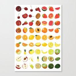 Fruits Galore Canvas Print