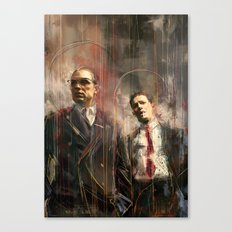 Legend Canvas Print