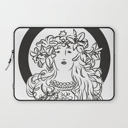 Mucha's Inspiration Laptop Sleeve