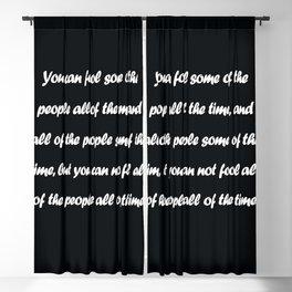 Abraham Lincoln Blackout Curtain