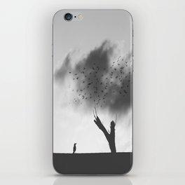 embrace the struggle iPhone Skin