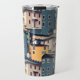 Night Castles (Pattern) Travel Mug