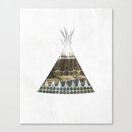 Tipi Number 1 Canvas Print