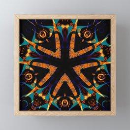 Tribal Geometric Framed Mini Art Print