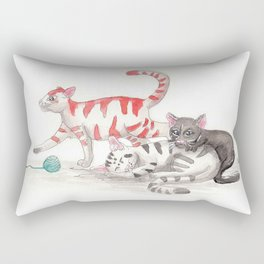Kitty Play Time Rectangular Pillow