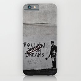 Dreams Cancelled iPhone Case