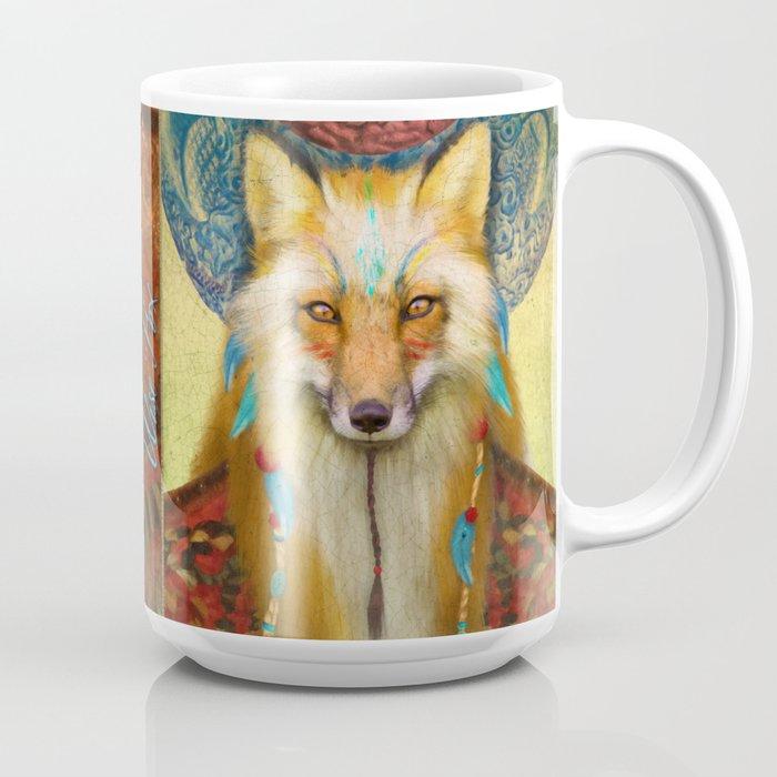 Wise Fox Coffee Mug
