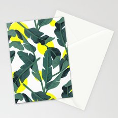 Tropical '17 - Fresh [Banana Leaves] Stationery Cards