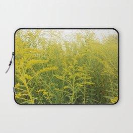 Yellow Goldenrod Laptop Sleeve