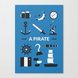 OUAT - A Pirate Canvas Print