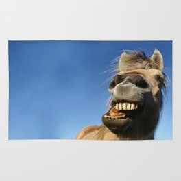 Happy Horse Photography Print Rug