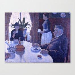 The Dining Room (aka Breakfast) Canvas Print