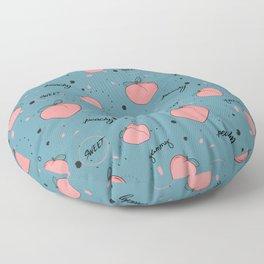 Sweet peach Floor Pillow
