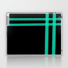 Mint Strip Laptop & iPad Skin