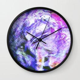 Orchid Mist Wall Clock