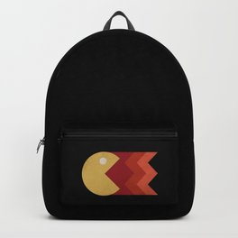Vintage Retro Pacman Backpack