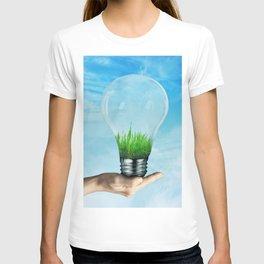 Save Green Concept T-shirt